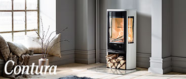 Read more about wood burning stoves from Contura