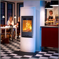 Give the fire height with Contura 790